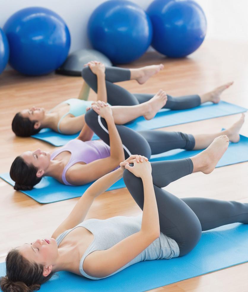 sport, femme, jeune maman, bien-être, pilates, yoga, fitness, gym